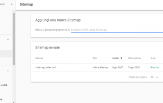 Sitemap Google Search Console