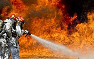 pompieri e incendio