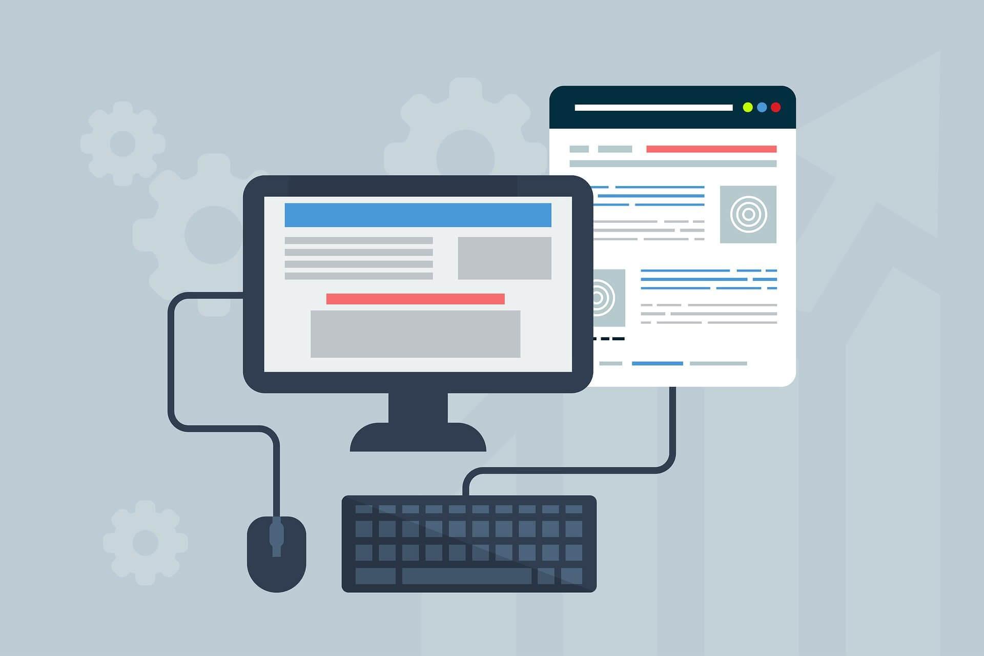 web design e web marketing